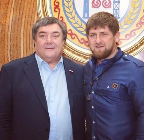 Ваха Агаев и Рамзан Кадыров